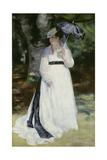 Lise with a Parasol (Lise - La Femme a L'Ombrelle), 1867 Giclee Print by Pierre-Auguste Renoir
