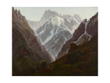 High Mountains, Ca, 1824 Giclee Print by Carl Gustav Carus
