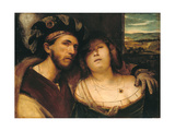 Love Couple, Vor 1520 Giclee Print by Altobello Meloni