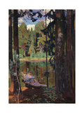 Silence, 1908 Giclee Print by Arkadi Rylow
