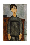 Girl with a Black Apron Giclee Print by Amadeo Modigliani
