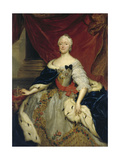 Electress Maria Antonia, Wife of Friedrich Christian, 1751 Giclee Print by Anton Raphael Mengs