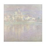 Vétheuil Bei Sonnenuntergang Wahrscheinlich 1900 Giclee Print by Claude Monet
