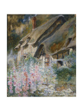 Anne Hathaway's Cottage Giclee Print by David Woodlock