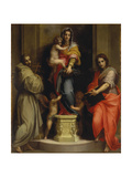 Madonna of the Harpies, 1517 Giclee Print by  Andrea del Sarto