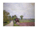 Country Road Near Moret, 1885 Print by Alfred Sisley