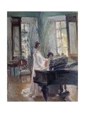The Music Room Giclee Print by Alexander Sredin