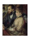 Loge, 1873 Giclee Print by Pierre-Auguste Renoir