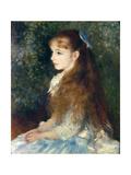 Irene Cahen D'Anvers, 1880 Giclee Print by Pierre-Auguste Renoir
