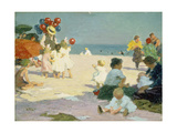 Live at the Beach Print by Edward Henry Potthast