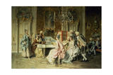The Recitation Giclee Print by Arturo Ricci