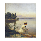 Near Leoni, by Starnberger See Prints by Anders Andersen-Lundby