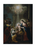 Adoration of the Magi Giclee Print by Christoph Anton Mayr