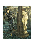 The Rock of Doom, 1885-86 Prints by Edward Burne-Jones