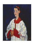 The Altar Boy, 1928 Giclee Print by Chaim Soutine