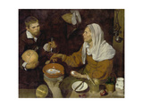 Old Woman Cooking Eggs, 1618 Giclee Print by Diego Velázquez