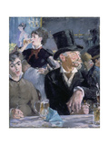 Le Café - Le Concert, 1878 Art by Edouard Manet