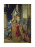 Portrait of Marquise Geromina Spinola - Doria Von Genua Print by Anthonis van Dyck