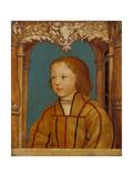 Portrait of a Boy with Blond Hair Giclee Print by Ambrosius Holbein