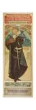 Plakat Fuer &Quot;Hamlet&Quot; Im Theater Sarah Bernhardt, 1899 Giclee Print by Alphonse Mucha