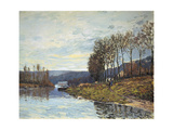 The Seine at Bougival, 1873 Prints by Alfred Sisley