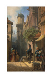 He Is Coming! Giclee Print by Carl Spitzweg