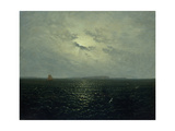 Moonlit Night, Rugia, Ca. 1819 Giclee Print by Carl Gustav Carus
