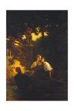 Liebespaar Im Kahn Reproduction procédé giclée par Camille Pissarro