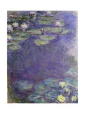 Nymphéas Reproduction procédé giclée par Claude Monet