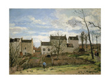 Spring in Pontoise, 1872 Giclee Print by Camille Pissarro