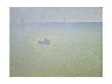 Dawn at the Seine, 1899 Giclee Print by Charles Angrand