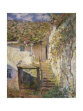 The Stairs, 1878 Giclee Print by Claude Monet