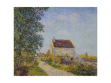 Le Village Des Sablons, 1885 Giclee Print by Alfred Sisley