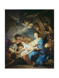 Adoration of the Shepherds Giclee Print by Charles André van Loo