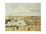 The Harbour at Dieppe, 1902 Giclee Print by Camille Pissarro