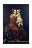 The Virgin of the Rosary, C. 1650-55 Giclee Print by Bartolomé Estéban Murillo