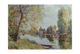 Spring in Moret-Sur-Loing Giclee Print by Alfred Sisley