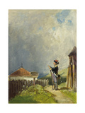 The Guard Giclee Print by Carl Spitzweg