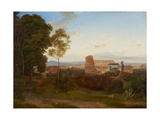 The Colosseum in Rome, 1828 Giclee Print by Carl Nebel