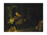 The Alchemist Giclee Print by David Ryckaert III