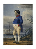 Napoleon on the Island of Saint Helena, Ca, 1820 Giclee Print by Alexander Orlowski