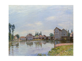 Moret, River and Bridge, 1892 Prints by Alfred Sisley