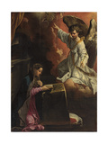 The Annunciation Prints by Annibale Carracci