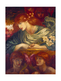 The Blessed Damozel, 1875-79 Posters by Dante Gabriel Rossetti