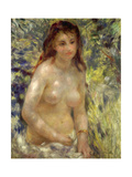 Study, Torso, Effect of Sunlight, 1875-76 Giclee Print by Pierre-Auguste Renoir