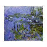 Nymphéas, 1913 Giclee Print by Claude Monet