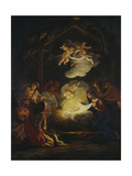 Adoration of the Shepherds Giclee Print by Agostino Umkreis Masucci