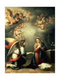 The Annunciation, 1655-65 Giclee Print by Bartolomé Estéban Murillo