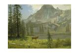 Call of the Wild Giclee Print by Albert Bierstadt