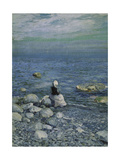 On the Shore of the Black Sea, 1890's Giclee Print by Alexejew Konstantin Korovin
